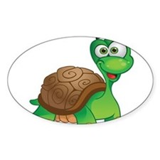 Funny Cartoon Turtle Decal
