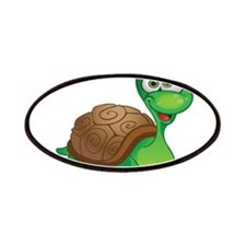 Funny Cartoon Turtle Patches