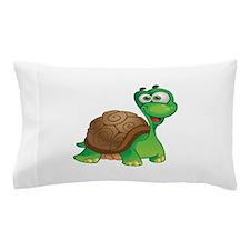 Funny Cartoon Turtle Pillow Case