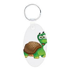 Funny Cartoon Turtle Keychains