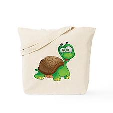 Funny Cartoon Turtle Tote Bag