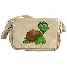 Funny Cartoon Turtle Messenger Bag