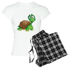 Funny Cartoon Turtle Pajamas
