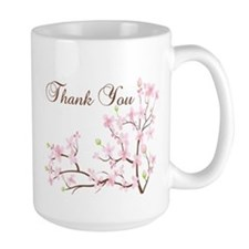 Cherry Blossoms Thank You Mug