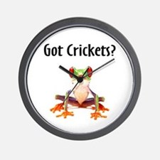 Red Eyed Tree Frog Wall Clock