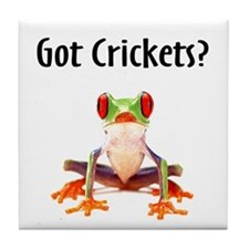 Red Eyed Tree Frog Tile Coaster