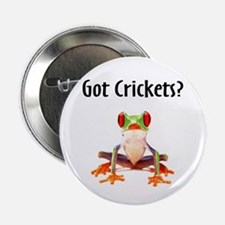 Red Eyed Tree Frog Button