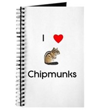 I love chipmunks Journal