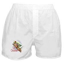Red Eyed Tree Frog II Boxer Shorts