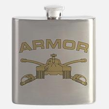 Armor Branch Insignia Flask