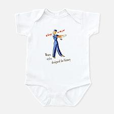 Jenny on the Job #4 Infant Bodysuit