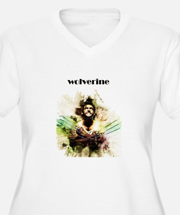 wolverine Plus Size T-Shirt