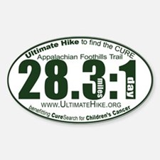 28.3:1 Miles: 1 Day Decal