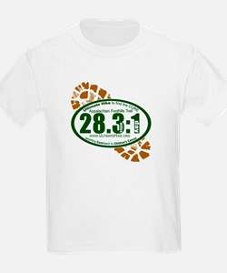 28.3:1 - Appalachian Foothills Trail T-Shirt
