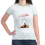 An Informed America Jr. Ringer T-Shirt
