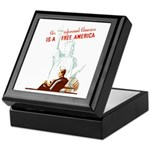 An Informed America Keepsake Box