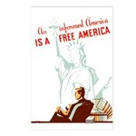 An Informed America Postcards (Package of 8)