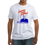 Avenge Pearl Harbor Fitted T-Shirt