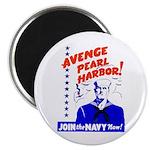 Avenge Pearl Harbor Magnet