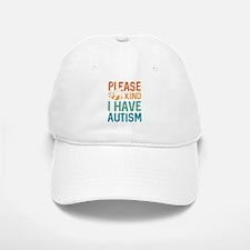 I Have Autism Baseball Baseball Cap
