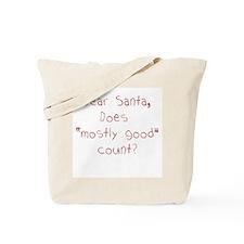 Dear Santa Tote Bag