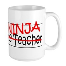 Job Ninja Sub Teacher Mug