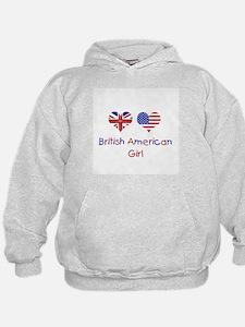 British American Girl Hoodie