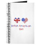 British American Girl Journal