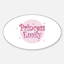 Emily Oval Decal