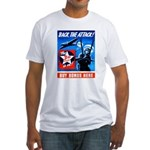 Back the Attack! Fitted T-Shirt