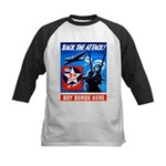 Back the Attack! Kids Baseball Jersey