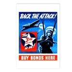 Back the Attack! Postcards (Package of 8)
