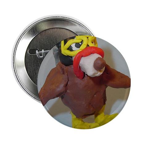 Thanksgiving Sloth Button