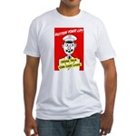 Button Your Lip! Fitted T-Shirt