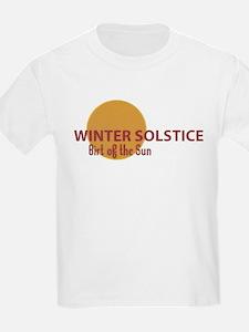Winter Solstice Kids T-Shirt