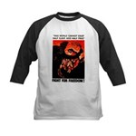 Fight For Freedom! Kids Baseball Jersey