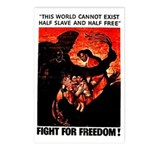 Fight For Freedom! Postcards (Package of 8)