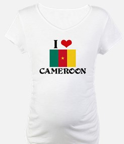 I HEART CAMEROON FLAG Shirt