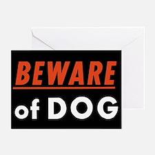 Beware of Dog Greeting Cards (Pk of 10)