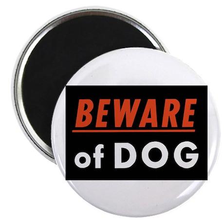 "Beware of Dog 2.25"" Magnet (10 pack)"