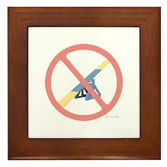 NO Teeter! Framed Tile