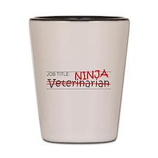 Job Ninja Vet Shot Glass