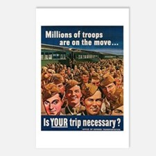 Is Your Trip Necessary? Postcards (Package of 8)