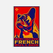 Obey the French Bulldog! Patriotism Magnet