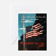 Remember December 7th Greeting Cards (Pk of 10