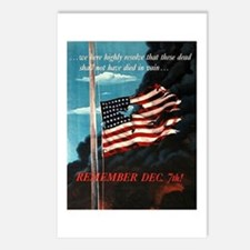 Remember December 7th Postcards (Package of 8)