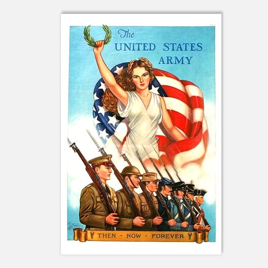 United States Army Postcards (Package of 8)