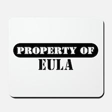 Property of Eula Mousepad