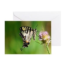 BUTTERFLY BEAUTY QUEEN Greeting Card