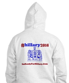 Hoodie I'm Ready For Hillary